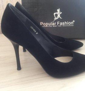 Туфли новые замша!👠👠👠