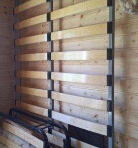 Кровать 120*200 см (основание + матрас)
