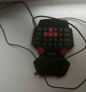 Наушники + игровая клавиатура