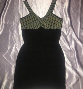 Бандажное новое платье р 44