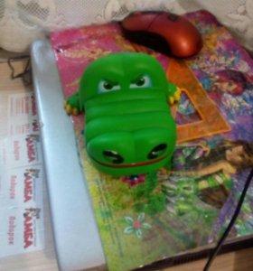 Крокодил игрушка за шоколадку