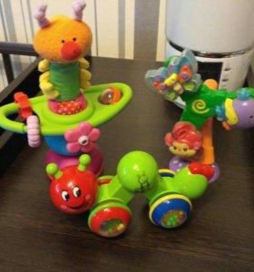 Детские игрушки на присоске