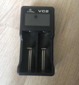Зарядное устройство для аккумуляторов Xtar VC2