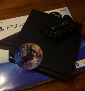 Sony PlayStation 4 Slim + Battle Field 1