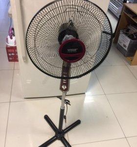Напольный вентилятор. С функцией таймера
