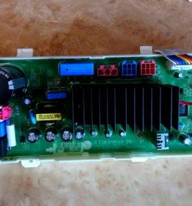 Модуль управления для LG F1096TD3 в сборе.