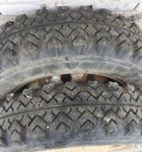 Продам зимние колёса на Ниву