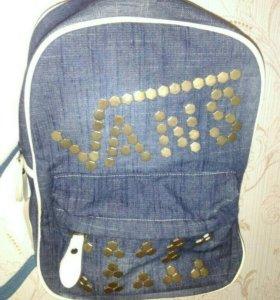 Рюкзак-сумка (портфель)