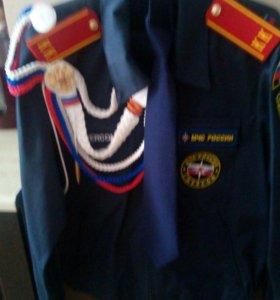 Парадная форма кадета (МЧС)