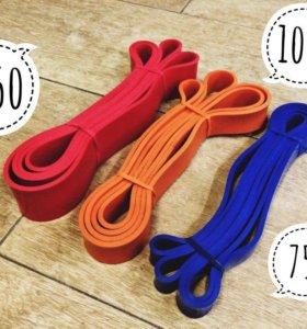 Резиновые петли, домашний тренажёр, фитнес-лента