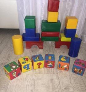 Два набора кубиков