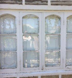 Деревяные окна 186х122
