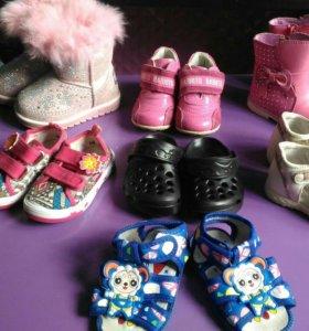 Обувь для девочки р19-20