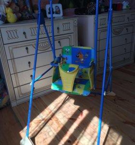 Качели детские напольные (новые)