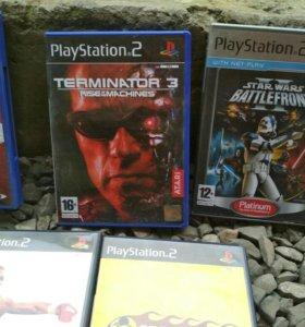Диски на Sony PlayStation 2
