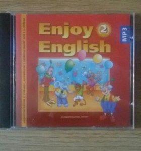 МР 3 диск к учебнику английского языка