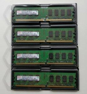 Все в наличии Hynix DDR2 2Gb - 4Gb 800Mhz