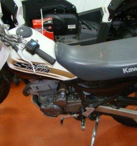 """Мотоцикл """"Kawasaki S.Sherpa 250"""""""