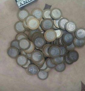 10 рублей в ассортименте