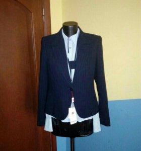 Костюм (пиджак+юбка+блузка)