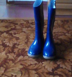 сапоги резиновые c металлическим носком новые