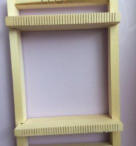 Станок для плетения фенечек из бисера