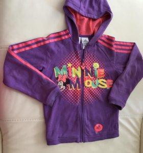 Кофта Adidas для девочки размер 128