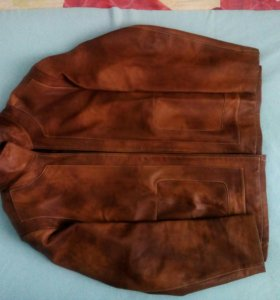 Куртка мужская из натуральной кожи, фирменная