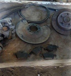 Задние дисковые тормоза форд фокус 2, 3 мондео