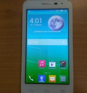 Смартфон Alcatel One Touch 5038D, 4 ядра