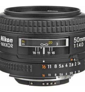Nikon 50 mm 1.4 D