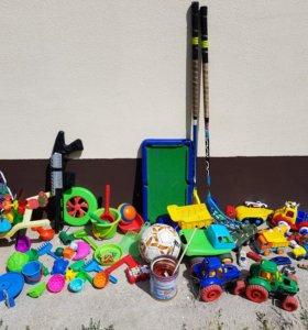 Игрушки, трек, машинки, для песочницы, бильярд