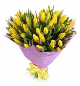 Любые корзинки или букеты с цветочной композицией