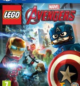 LEGO Marvel Мстители PS4 (русская версия)