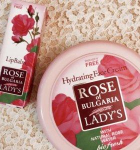 Крем увлажняющий Роза Болгарии,Биофреш