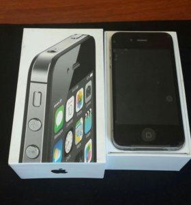 IPhone 4s 8gb черный новый