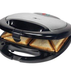 НОВАЯ. Сендвичница-бутербродница 2-в-1