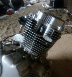 Двигатель на мотоцикл ирбис vr-1