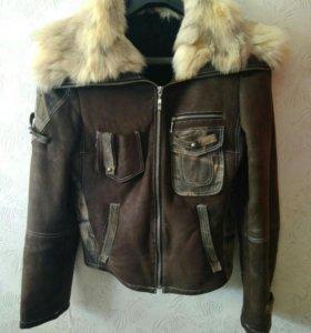 Дубленка- куртка