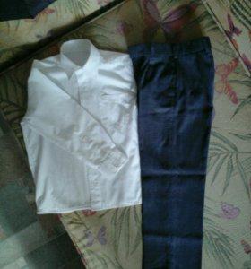 Брюки и рубашка на рост 116-122