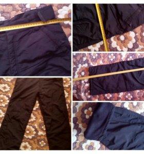 Утепленные спортивные брюки мужские