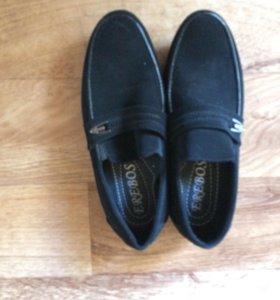 Новые туфли на мальчика