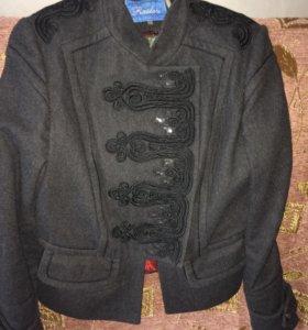 Пальто объём груди до 100см