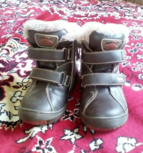 Зимние сапожки-ботинки (унисекс)