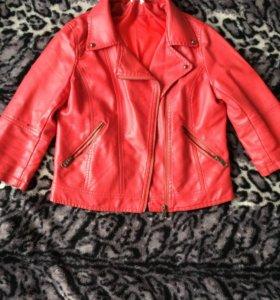 Куртка кожаные