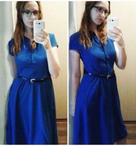 Платье рубашка р. 50  модное всегда