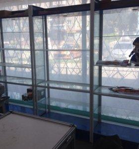 Шкафы 10шт стекло для секции 10квм