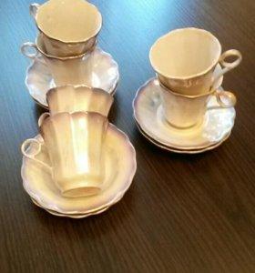 Набор кофейных чашек Коростеньский фарфоровый заво