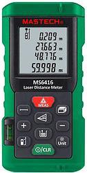 Дальномер лазерный mastech MS6416 60m