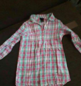 Рубашка рост 128